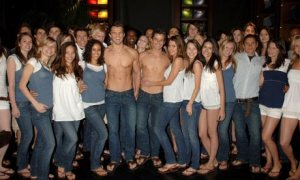 Abercrombie & Fitch opens its London Store, 2007